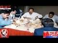 Police Officers Dinner with Gangster Nayeem Photos Leaked | Teenmaar News