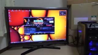 テレビでパソコンを利用してみた・・・
