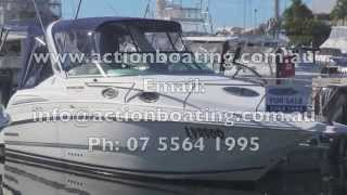 Mustang 2800 Series Sports Cruiser for sale Action Boating boat sales Gold Coast Queensland Austra