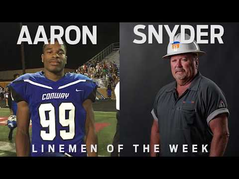Linemen Of The Week | Aaron and Snyder