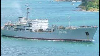 Ship PM 138 Floating Workshop Black Sea Fleet