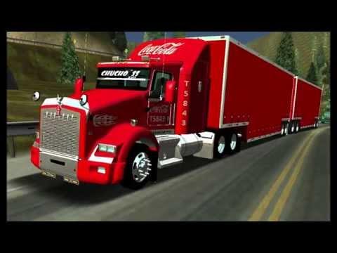 Kenworth T800 Tepachero Full Coca Cola By Tornadovtctea 18 Wos Haulin