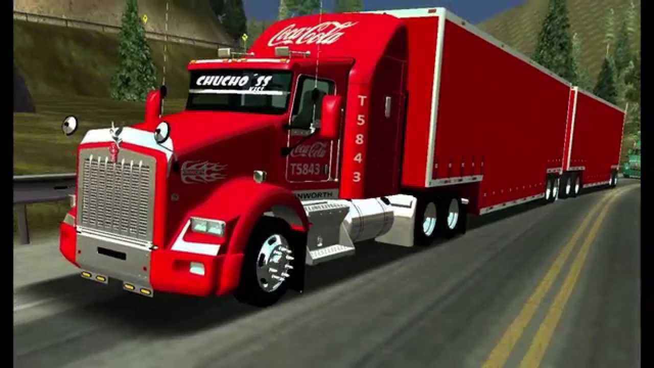 Kenworth t800 Tepachero Full Coca Cola By Tornadovtctea 18 ...