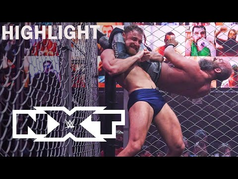 Thatcher Almost Breaks Ciampa's Leg In Fight Pit Match | WWE NXT HIGHLIGHT 1/20/21 | USA Network