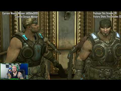 Relaxing with Gears of War 3! (Part 3) Cause why not?- Recorded Jul 27, 2018