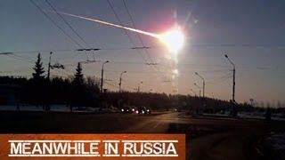 Meteorite Falls in Russia From Different Angle