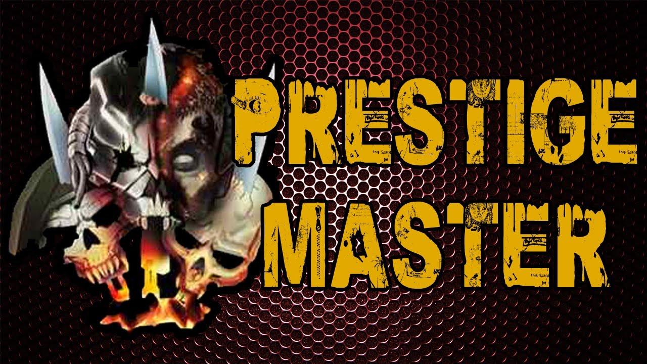 i'm a prestige master! (call of duty black ops 2 max prestige stats