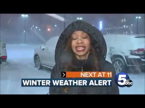 January 19, 2019 Winter Storm - Cleveland, Ohio - Part 1 News Coverage