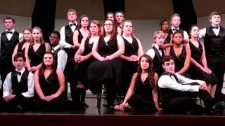 Barberton High School  Choir sing Slow dancing in the snow