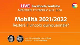 A breve sarà pubblicata l'ordinanza che regola la procedura di mobilità per l'a.s. 2021/2022. chi potrà partecipare alla professionale e territorial...