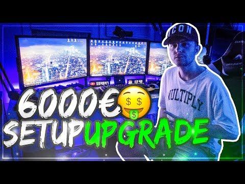 Das 6000€ SET UP UPGRADE 😱 GamerBrother Streaming Room Tour 2018