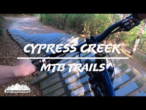 The BEST Intermediate trails at Cypress Creek Mountain Bike Trails!
