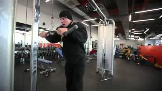 Силовые упражнения для мужчин 3 урок
