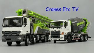 Sunraise Zoomlion 64X-6RZ Concrete Pump + Mixer by Cranes Etc TV