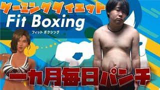 【ダイエット】Fit Boxingを一カ月やり続けたら痩せるのか