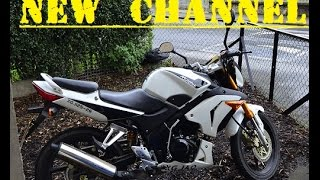 New Motovlog Channel - Channel Trailer - Motorbike Vlogs
