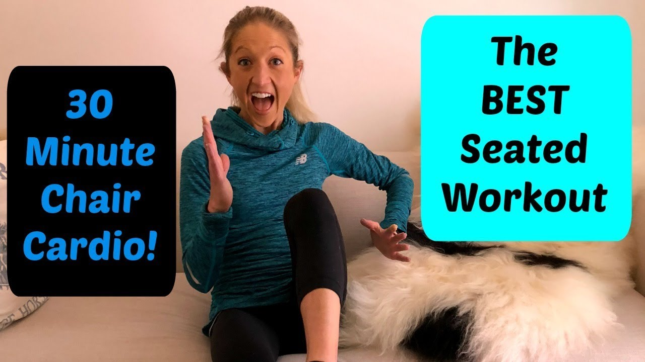 30 minute chair workout for seniors camo desk the best seated this cardio routine will kick your butt