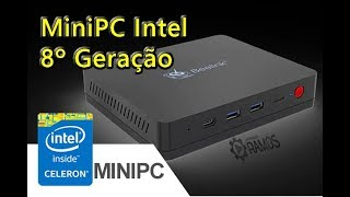 🖥 Mini PC Beelink S2 Intel Gemini Lake N4100 com Windows 10 👍Review - Análise