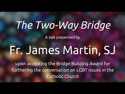 Fr. James Martin: New Ways Ministry's Award 2016