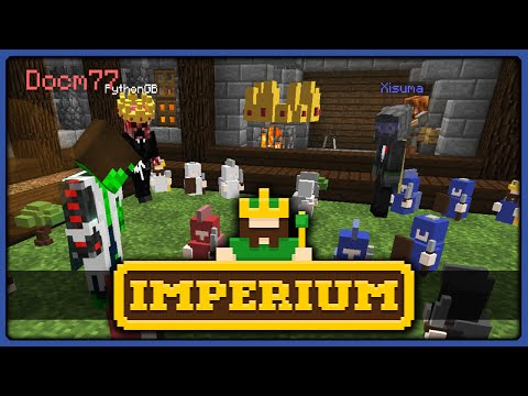 Minecraft Minigame | Imperium || HERMIT BATTLE CHESS (KIND OF)!!