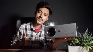130 Inch!!! Tv Under 10k? | Review Of Egate K9 Projector | Hr Tech |