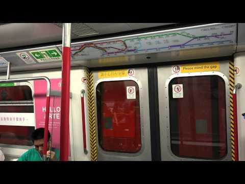 港鐵 港島綫 往上環列車 全程行車片段 MTR ISL train service to Sheung Wan
