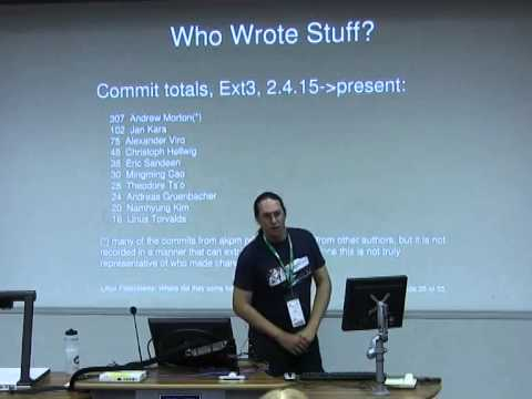 Linux Filesystems: Where did they come from? [linux.conf.au 2014]