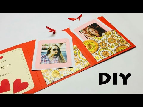 DIY Photo Album Card | Love Greeting Card | Greeting Cards Latest Design Handmade