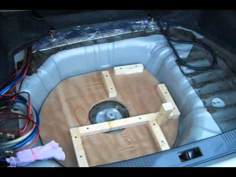 Part 2 Rockford T2 15 S Ported Box Build Kinetik Battery