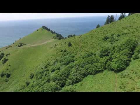Cascade Head drone flight