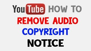 how to get around  audio copyright on youtube (LEGAL)
