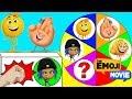 Hi-5 Emoji and Jailbreak Play the Emoji Movie Spin the Wheel Game, Paw Patrol Toys   Ellie Sparkles
