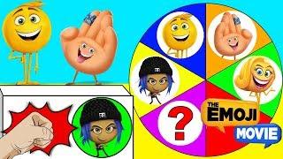 Hi-5 Emoji and Jailbreak Play the Emoji Movie Spin the Wheel Game, Paw Patrol Toys | Ellie Sparkles