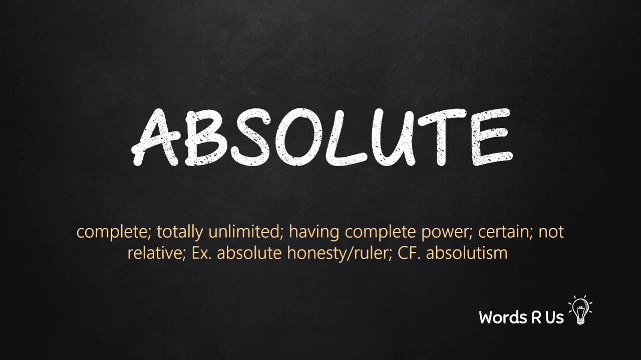 How to pronounce Absolute correctly in American English