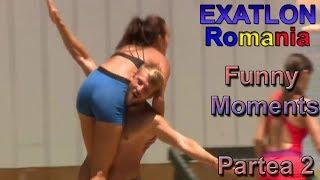 Exatlon Romania momente amuzante , fail-uri și căzături #2