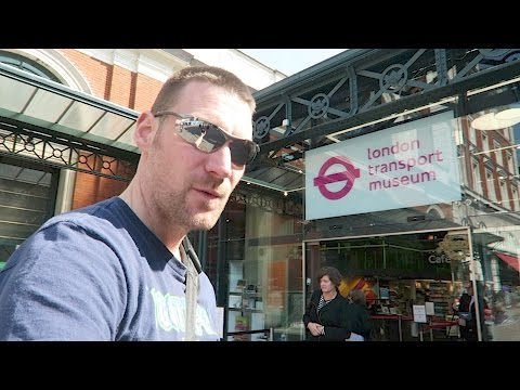 Time for an Educational Trip // The London Transport Museum