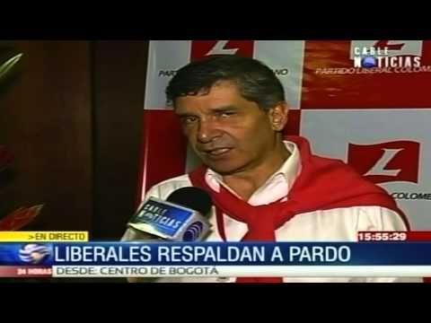Rafael Pardo recibió este sábado aval oficial del Partido Liberal