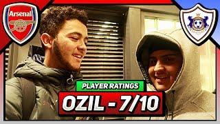 "Arsenal 1-0 Qarabag FK | ""Ozil Was BACK AGAIN!"" | Player Ratings (Bhav & Frank)"