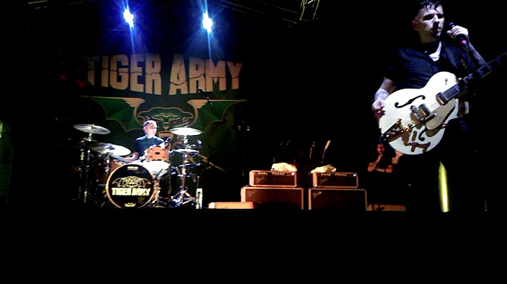 tiger army  sea of fire
