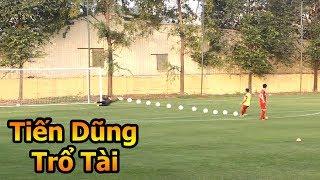 Thử Thách Bóng Đá sút Penalty với Bùi Tiến Dũng ĐT Việt Nam Asian CUP 2019