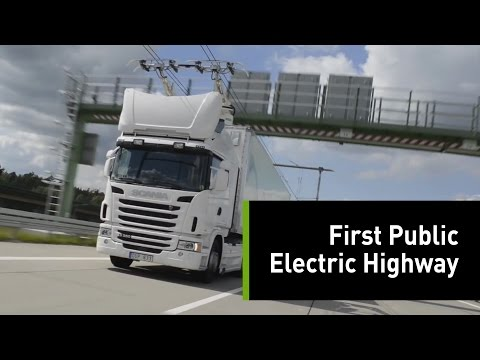 Sweden's Trolley System-Like eHighway Will Reduce Air Pollution