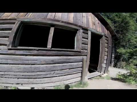 we stumbled on  a gold mining  ghost town in montana .i bet  this place is huanted