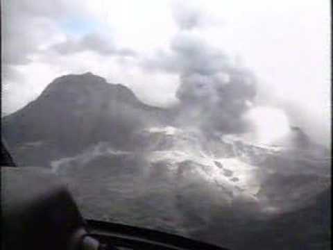 Mt. Pinatubo Explosion At Clark Air Base, Philippines Part 1