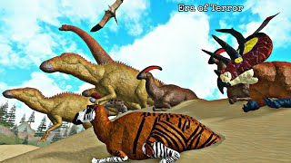 Era of Terror Realism-migration: West Manade, Desert and Super dinosaurs! Roblox