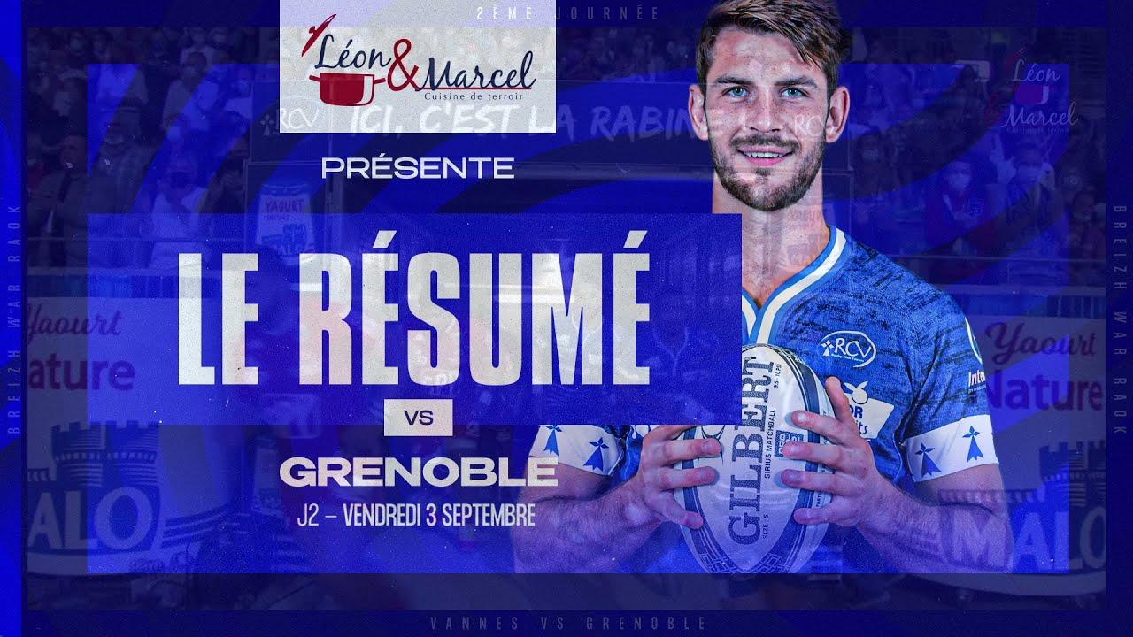 Download J2 : RCV - FC Grenoble 33-38   le résumé du match 🎥