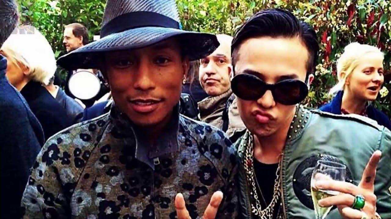 ec26855f20d G Dragon Makin Dekat dengan Pharrell Williams dan Kendall Jenner ...
