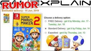 RUMOR: Super Mario Maker 2 Launching June 14th According to Amazon UK