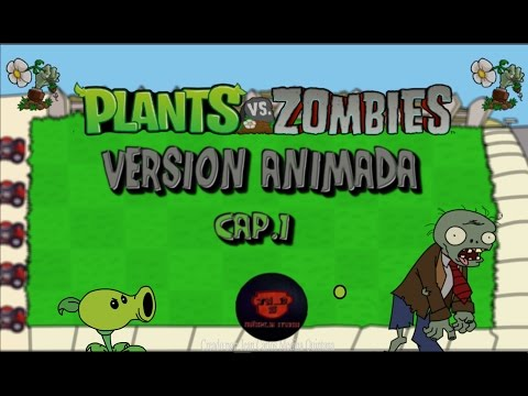 Plantas Vs Zombies - Animado
