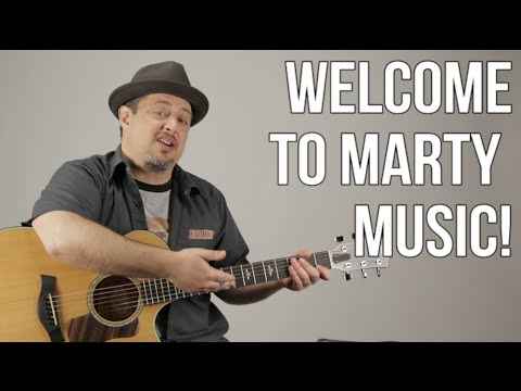 Welcome To Marty Music!