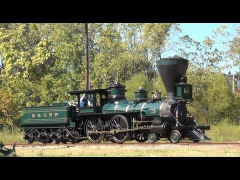 B&O Steam Days And A Cab Ride On The William Mason (in HD)